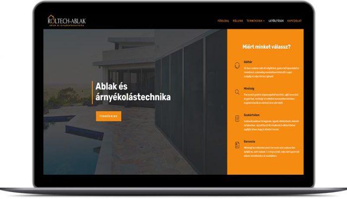 fodorsolutions weboldal készítés, honlapkészítés arculattervezés - roltech ablak kft